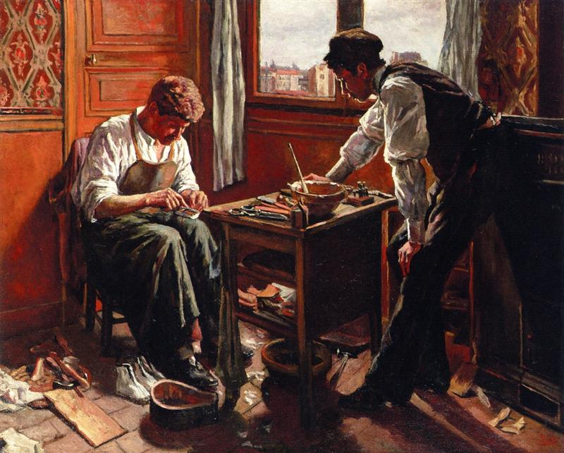 The Shoemaker, the Two Givort Brothers