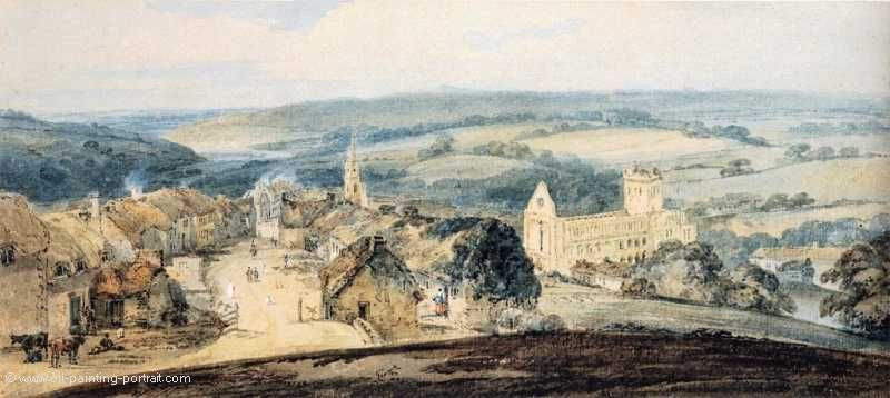 The Village of Jedburgh (Scottland)