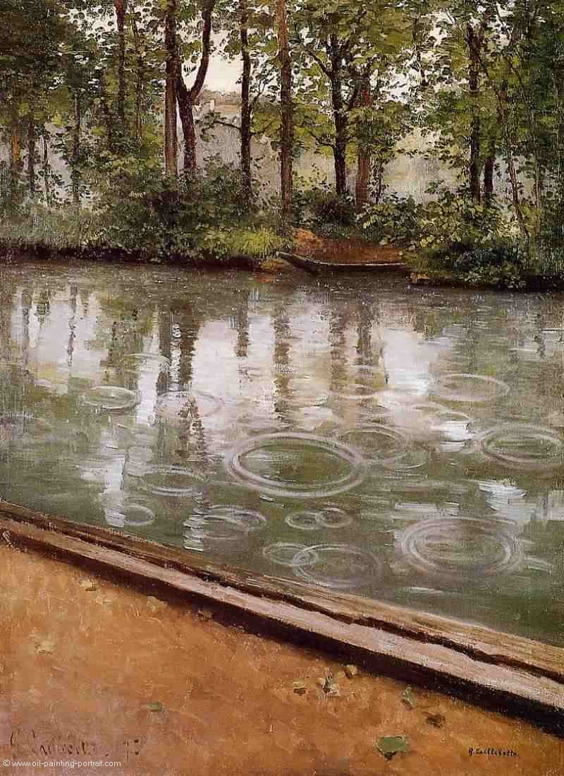 The Yerres Rain (Riverbank in the Rain)