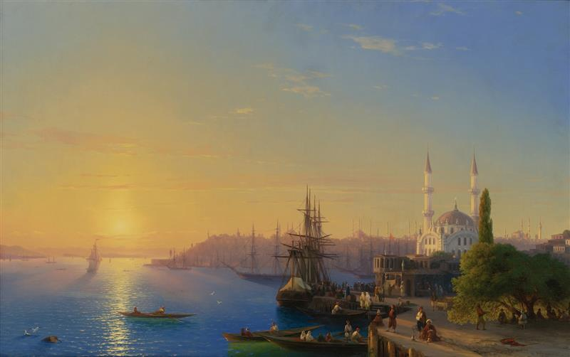 View of Constantinople and Bosphorus