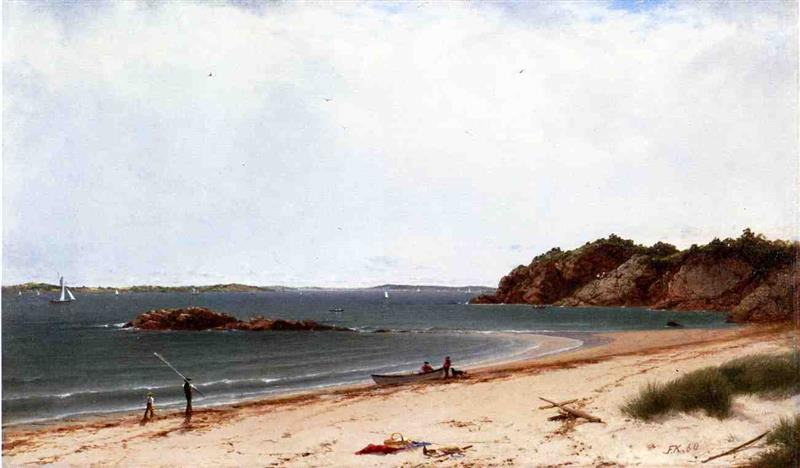 View of the Beach at Beverly, Massachusetts