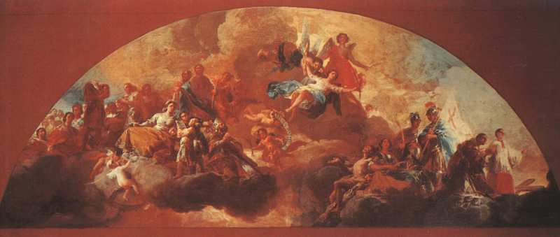 Virgin Mary as Queen of Martyrs