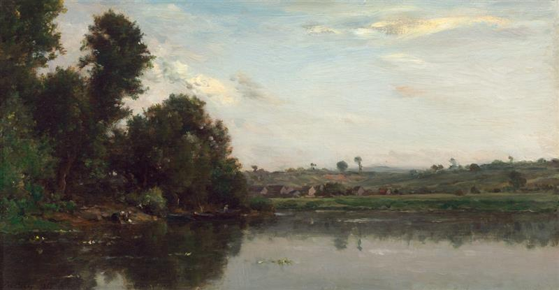 Washerwomen at the Oise River near Valmondois