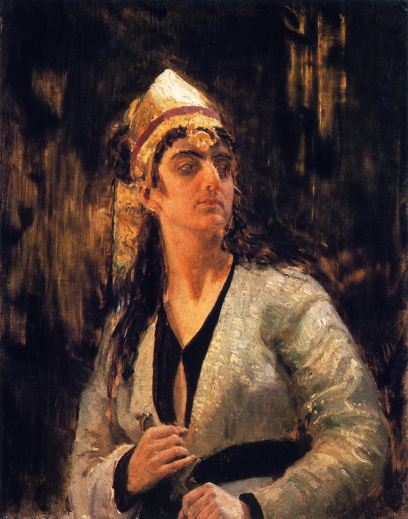 Woman with a Dagger
