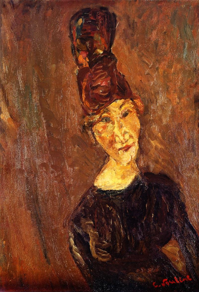 Woman with a Tall Hat