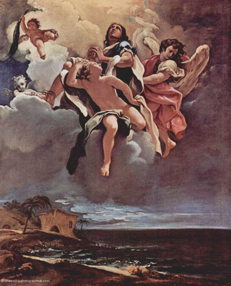 apotheose eines heiligen bilder gem228lde und 214lgem228lde
