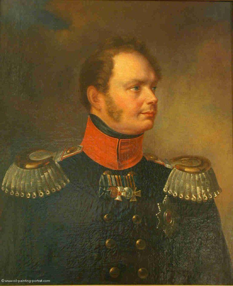 Friedrich Wilhelm IV, Koenig von Preussen - Oil Painting Reproduction