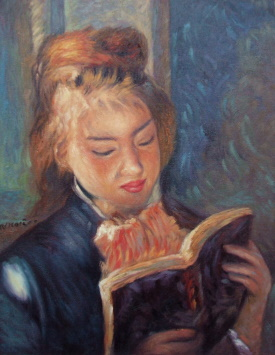 Pierre-Auguste Renoir  Reading Girl