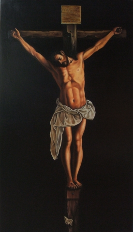Francisco de Zurbaran  Christus am Kreuz