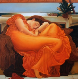 Lord Frederick Laighton Flaming June