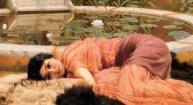 John William Godward Detail