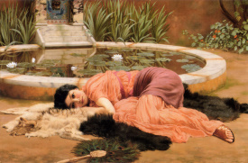 John William Godward dolce far niente