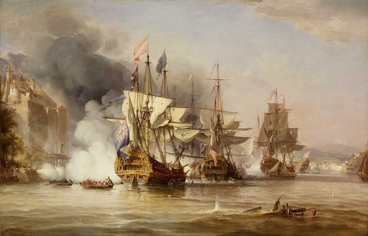 Famous Paintings Of The Battle Of Trafalgar