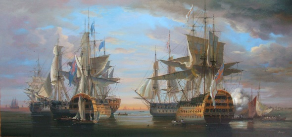 Seeschlacht von Admiral Nelson