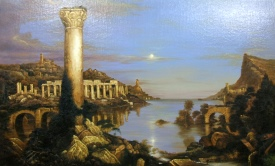 Thomas Cole The Course of Empire Desolation