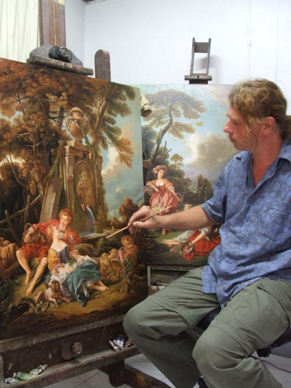 Boucher Gemälde