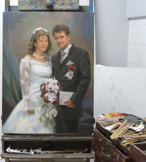 Hochzeit Gemälde