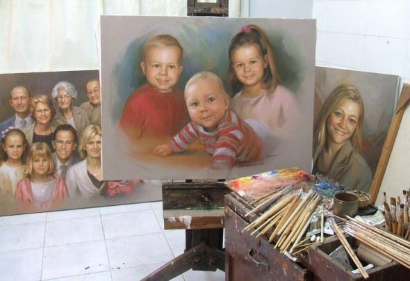 Kinderbilder Babybilder Gemälde