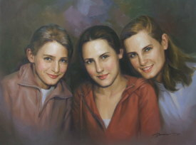 Portraitmaler Gemälde
