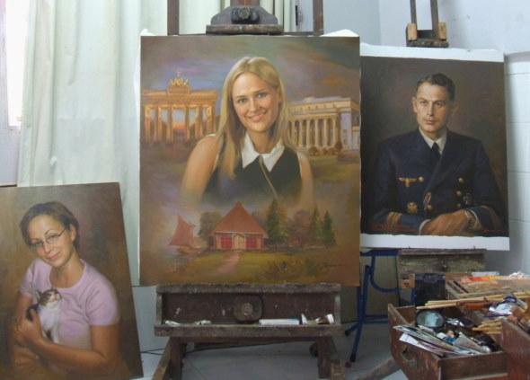 Peintre portraitiste