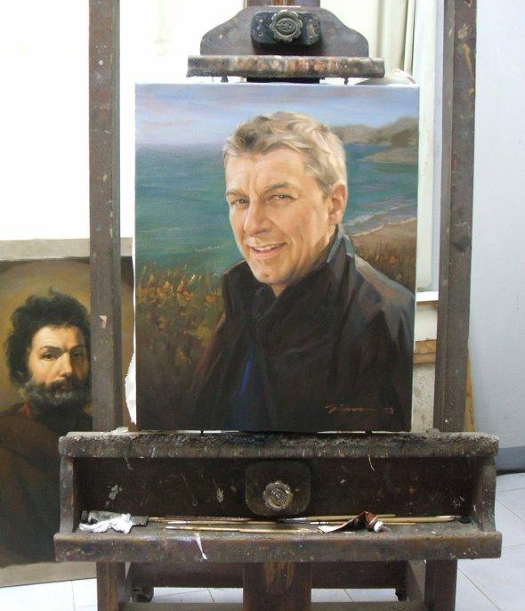 klassisches Portrait Gemälde
